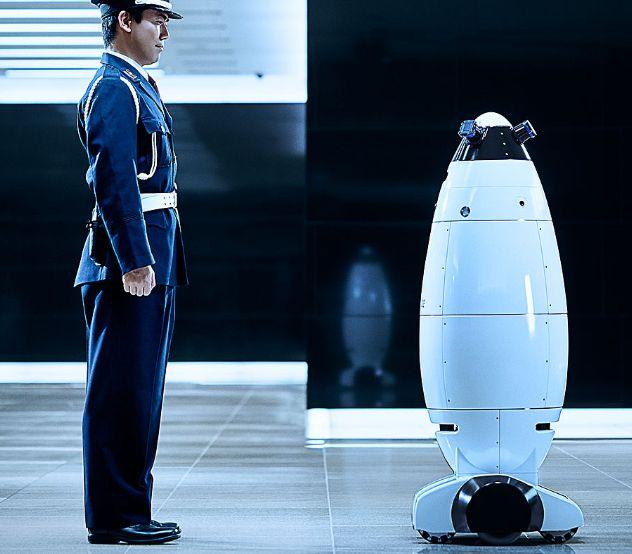 警備員ロボット